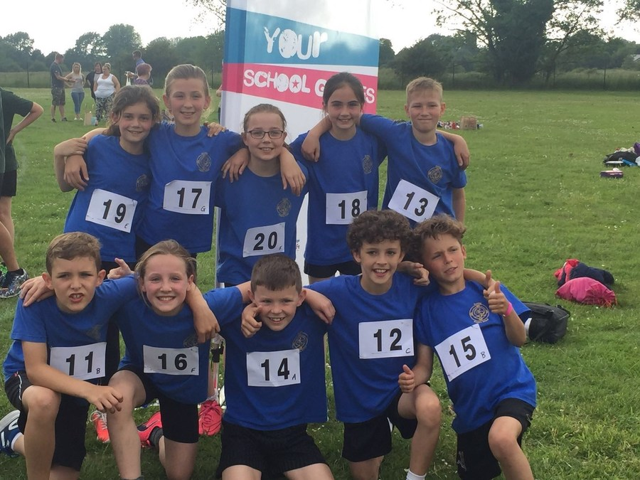 under 11 athletics team came 6th at the Forest Heath Under 11 Quadkicks June 2016
