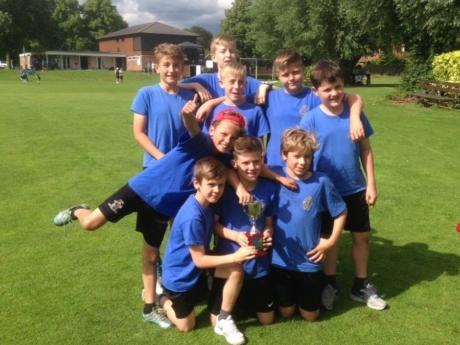 Under 11 Quik cricket winners