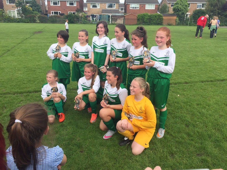Bury 7 a side runners up