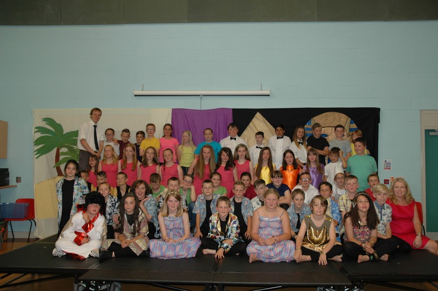 The cast of Joseph, Summer 2014