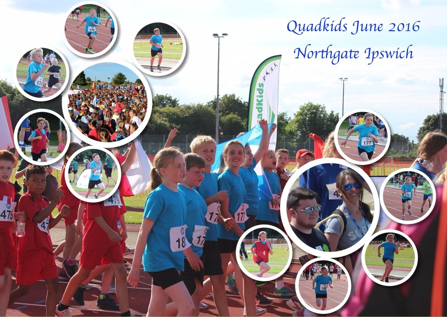 Quadkids at Northgate Sports Centre - June 2016