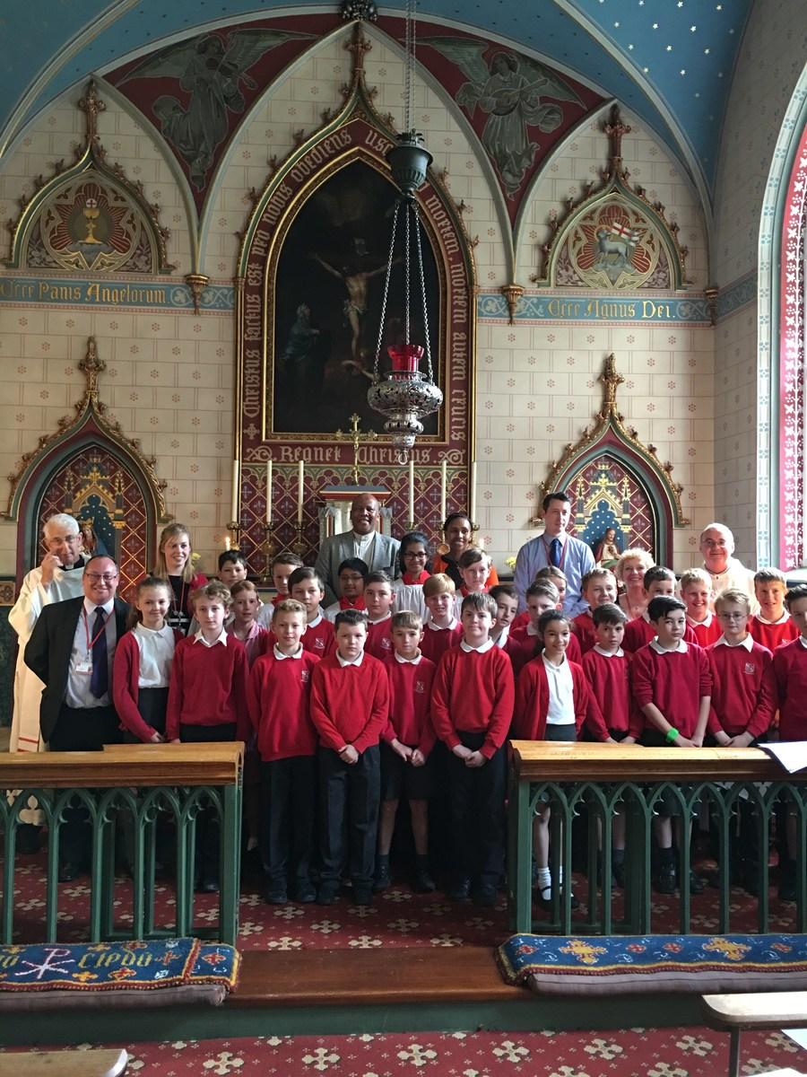 Mass at Broughton Hall