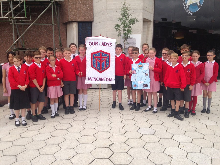 Year 6 at Clifton Cathedral