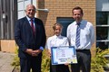 Abbie wins colouring competion M6 Toll