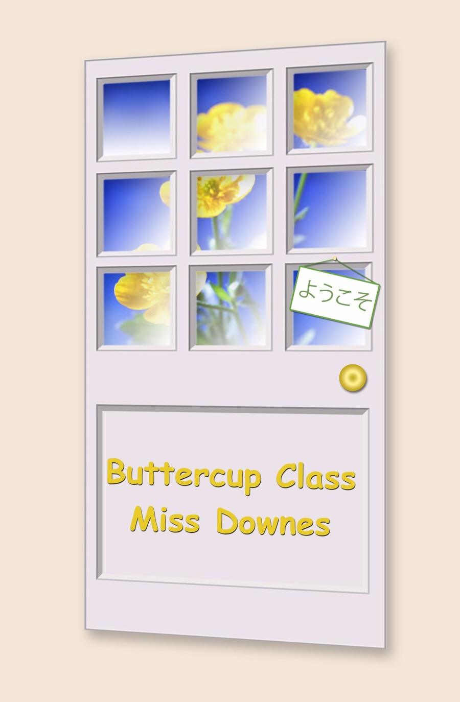 Go to Buttercup Class