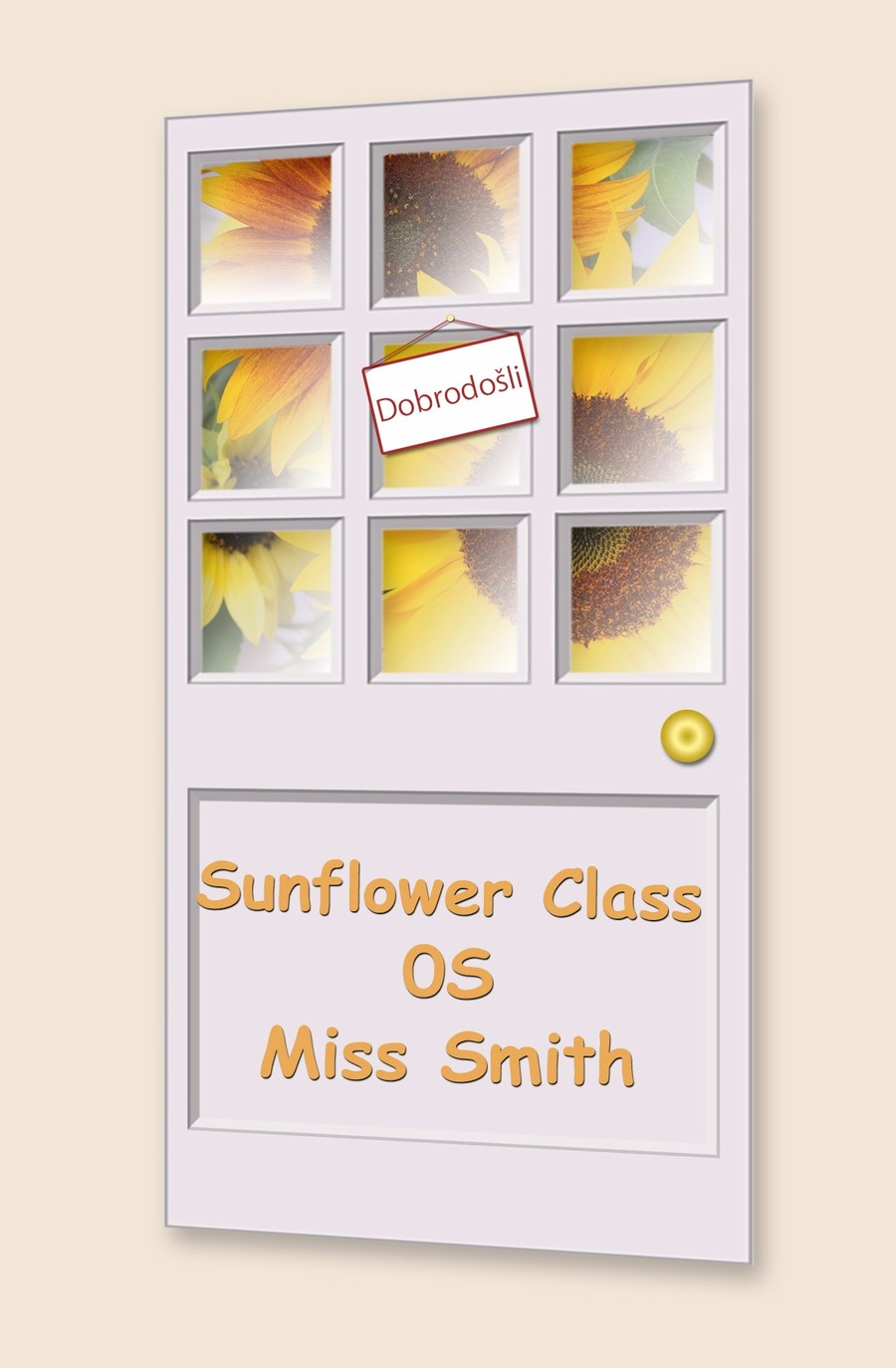 Go to Sunflower Class