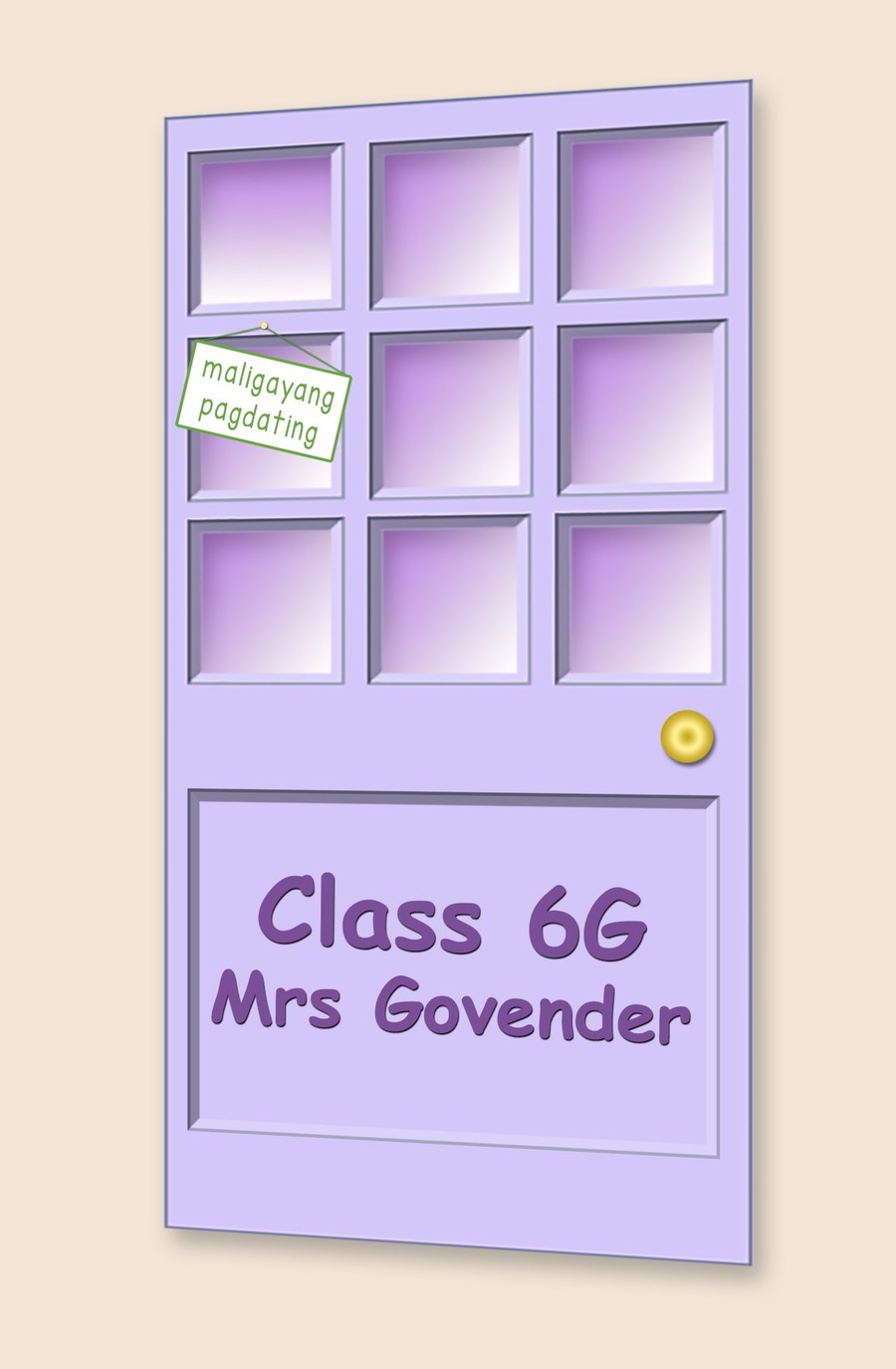 Go to Class 6G