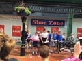 Y5 Steel Pan Band performs at Cannock Town Centre