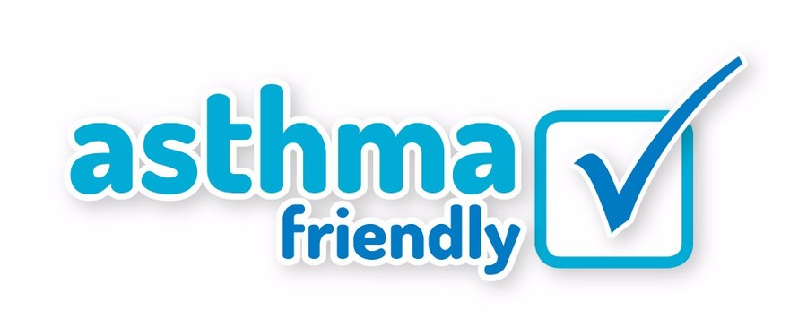 We were awarded our asthma friendly status in 2016