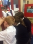 Observing the learning in class 6C.