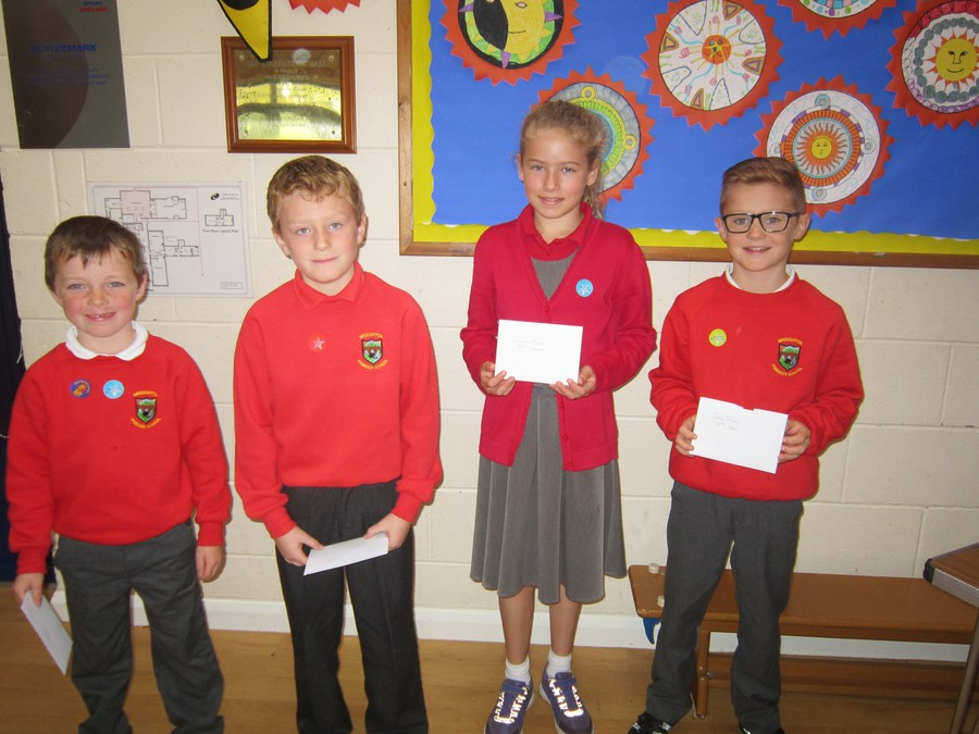Ewan, Alexander, Leanne and Jake celebrated their birthdays Friday 23rd September