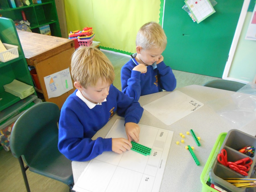 Joseph and Declan used Base 10 to subtract
