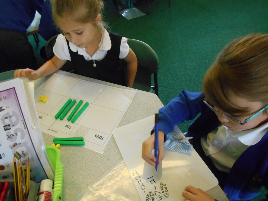 Holly and Freya worked together to get the correct answer