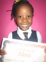 Year 1<p>Natania - for a super effort when practising cursive handwriting.</p>