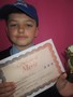 Year 5<p>Charlie - for an excellent speech in year 5's personality of the year contest.</p>