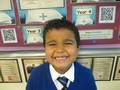 Year 2<p>Ahmed - for settling so well into Year 2 and St. Cuthbert's.</p>