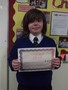Year 6<p>Joe - for a much improved attitude towards the challenging work and responsibilities of Year 6.</p>