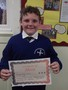 Year 4<p>George - for being a polite member of Year 4 and welcoming Miss Irene</p>