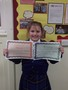 Year 5<p>Gabe-rielle - for an outstanding contribution to our global goals debate tackling the issue of gender inequality.</p>