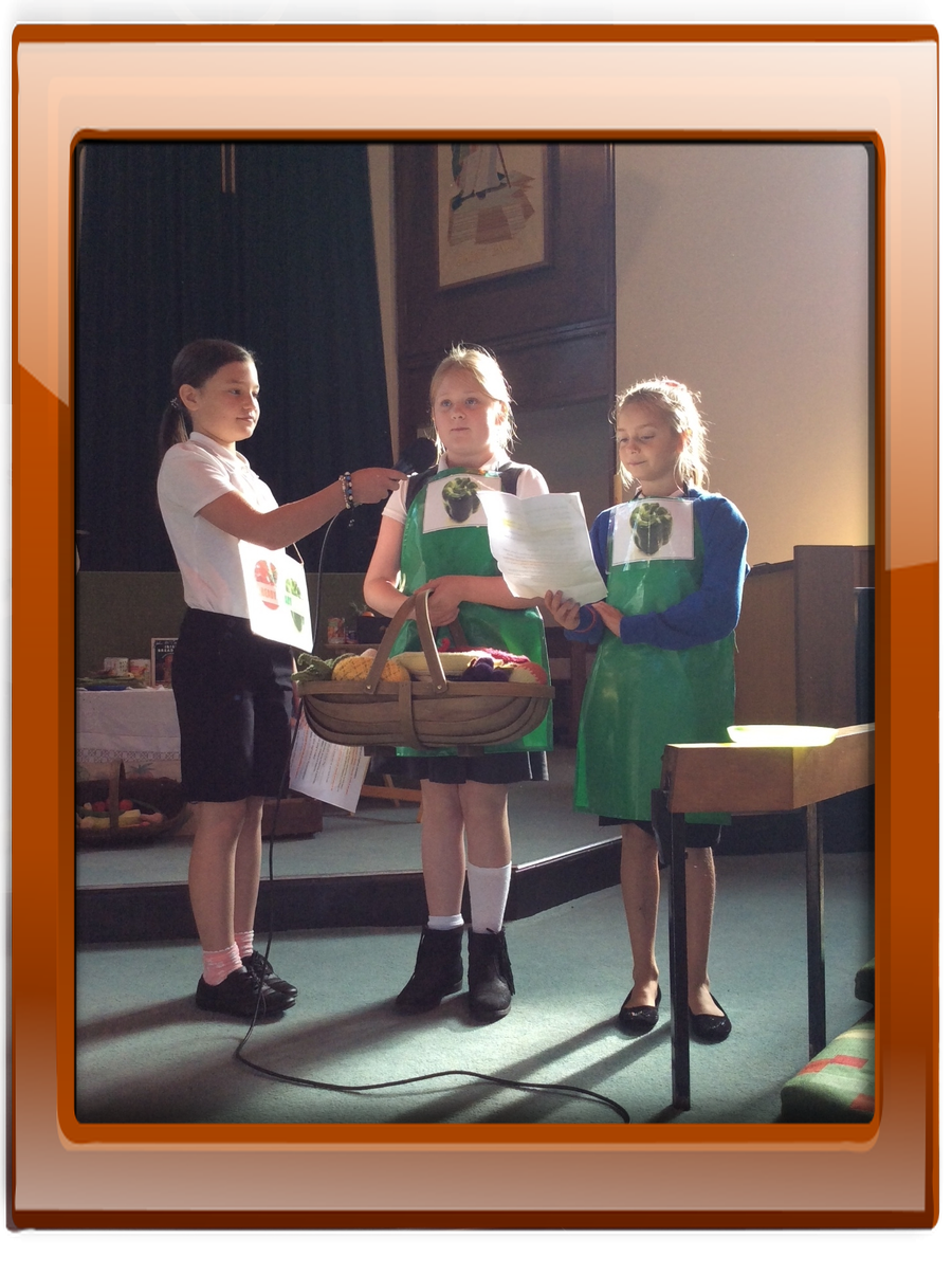 Our performance was a 'Ready, Steady, Cook' sketch!