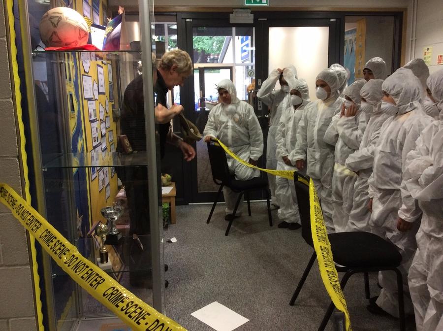 Year 6 Forensics Workshop