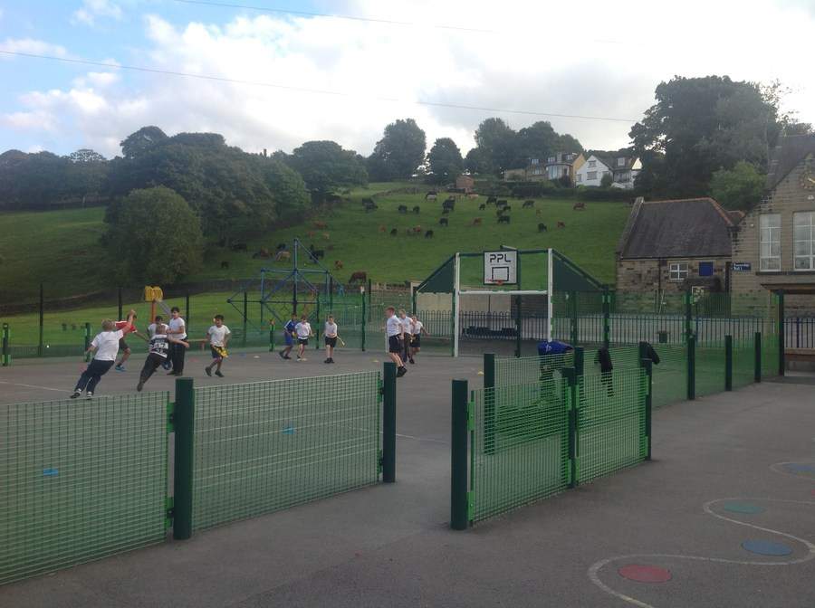 Yr5/6 Coaching with Keighley Cougars