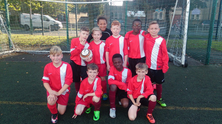 Our Central League campaign started with a 3-3 draw with St Mary's RC Primary. Well done boys.