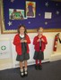 Charlotte & Belle received Karate medals.