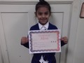 Year 2<p>Jaanveer - for giving a great effort in class and trying really hard to do her homework.</p>