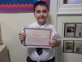 Year 3<p>Nathan - for setting a superb example to other children.</p>