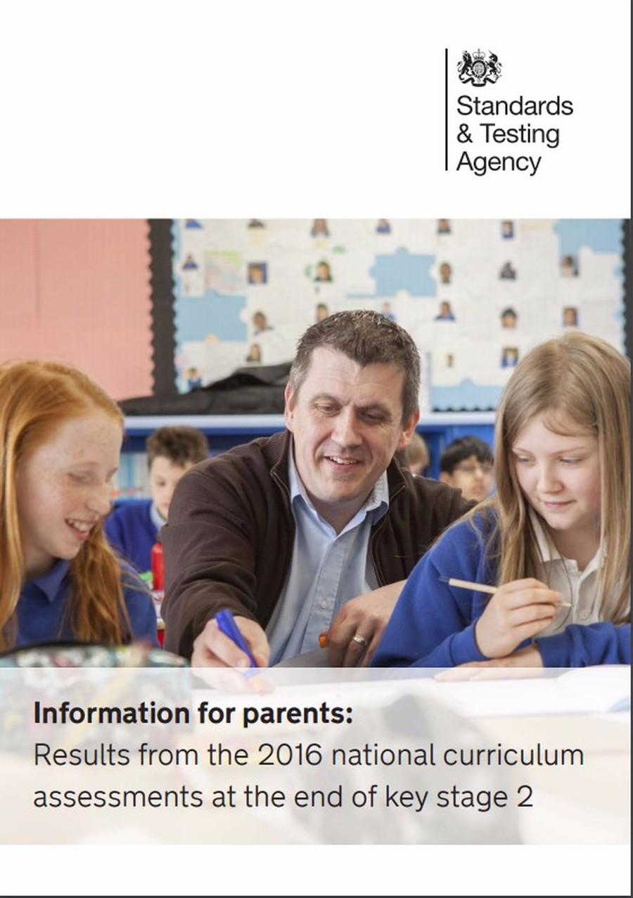 Get information for parents from the Government's Standards & Testing Agency.