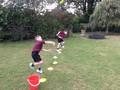 Throwing practise