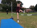 High jump practise