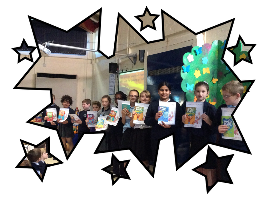 Congratulations to the children who completed the Summer Reading Challenge. The children were given their certificates during our Harvest Assembly, a huge round of applause and a Dahlicious book! We hope that you enjoy your new book! Happy reading!