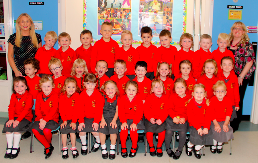 Meet P.1TM with Mrs McKay and Mrs Henry.