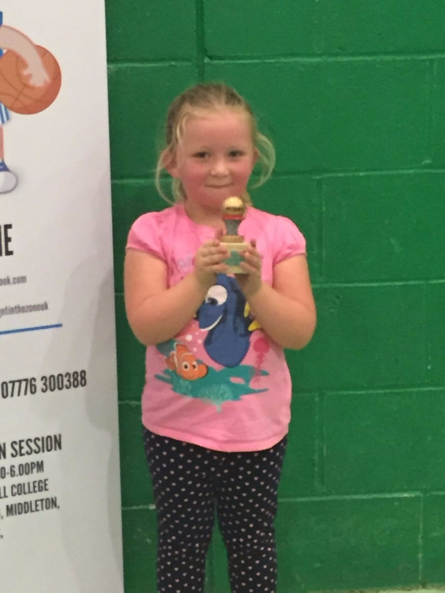 A big well done to Isabelle who won 'Netter of the Week' at her netball club this week.