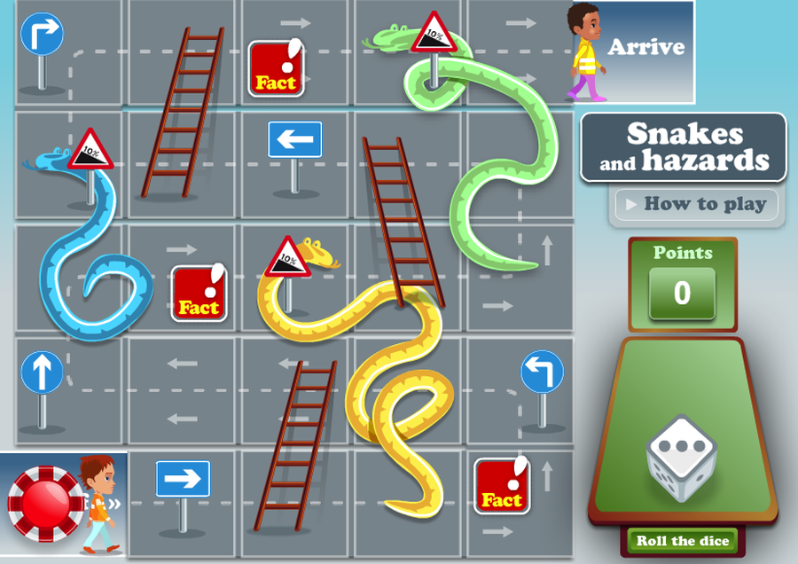 Snakes and Hazards