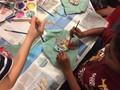 Painting Rainbow Fish