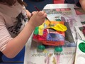 Painting the Balloon Powered vehicles