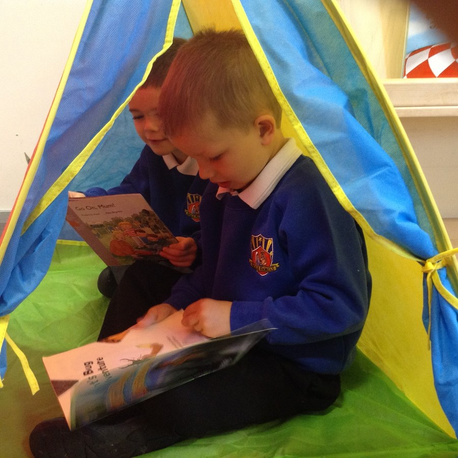 Reading in the EYFS