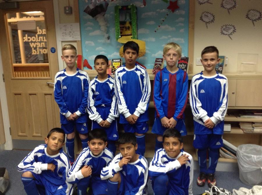 School Football Team 2016-2017