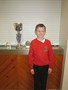 Elliott shared all his trophies from rugby club, winning Man of the Season award! Well done.