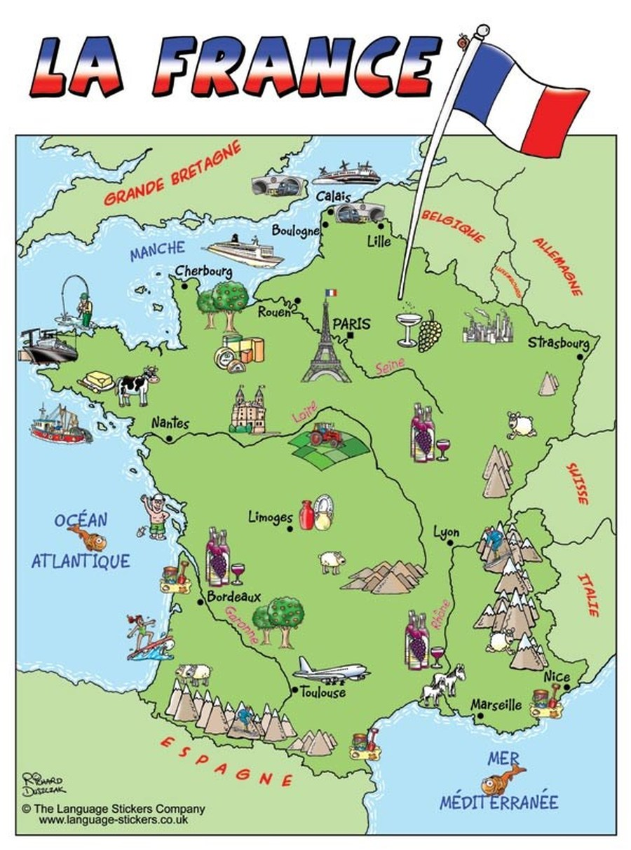 Map Of France For Ks2.Map Of France Ks2 Kameroperafestival