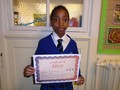 Year 6<p>Tanaka - for an incredible effort improving her swimming</p>