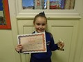 Year 4<p>Faye - for being a polite and helpful member of our class showing a focused attitude in her work</p>
