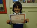 Year 2<p>Adam - for trying so hard in school and at home, especially with phonics</p>