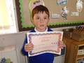 Foundation 2<p>William - for excellent painting with his feet during our positive about ability week</p>