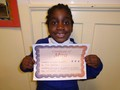 Year 1<p>Fawziyah - for showing great confidence to perform and show off her new talent - sign language</p>