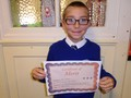 Year 5<p>Sean - for showing such attentiveness and respect to the visitors in our class this week</p>