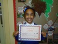 Year 6<p>Mya - for an outstanding score on weekly spellings. Not only does she have the ability but she has the commitment too!</p>